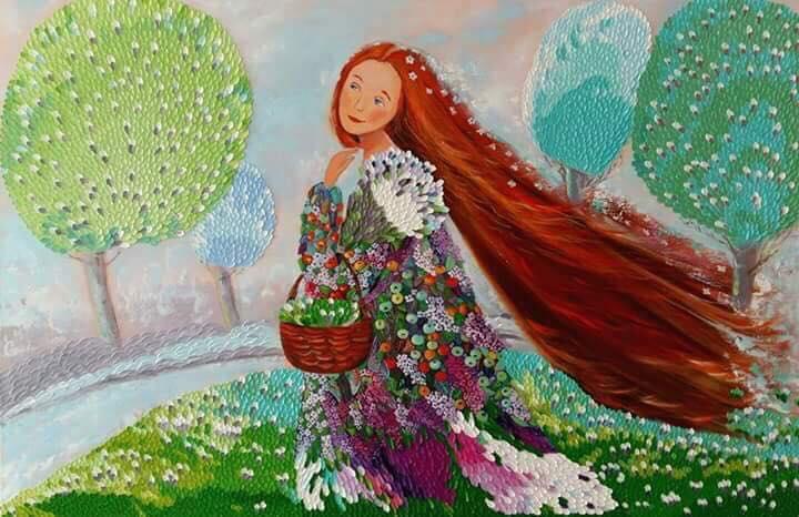 Оксана Грек, художниця