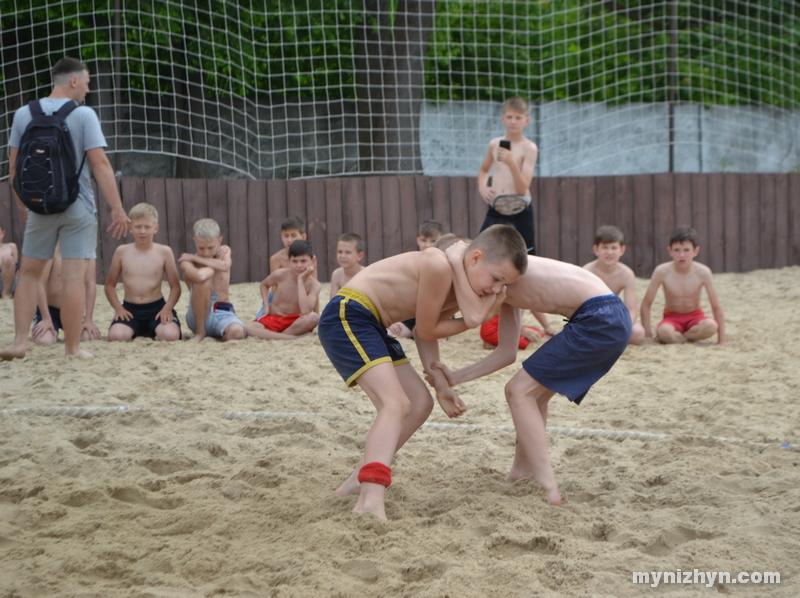 змагання, пляжна боротьба