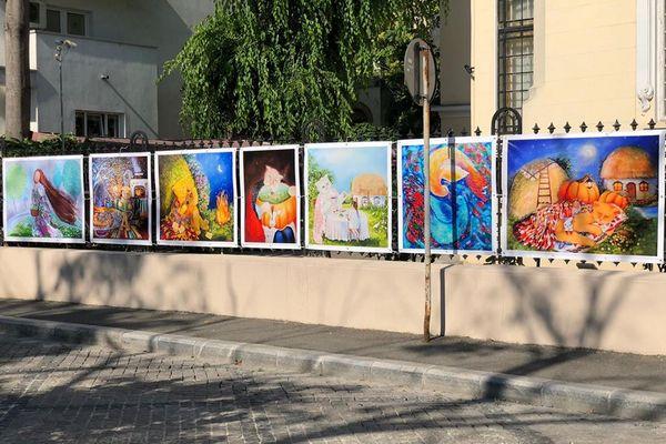Оксана Грек, картини, Румунія