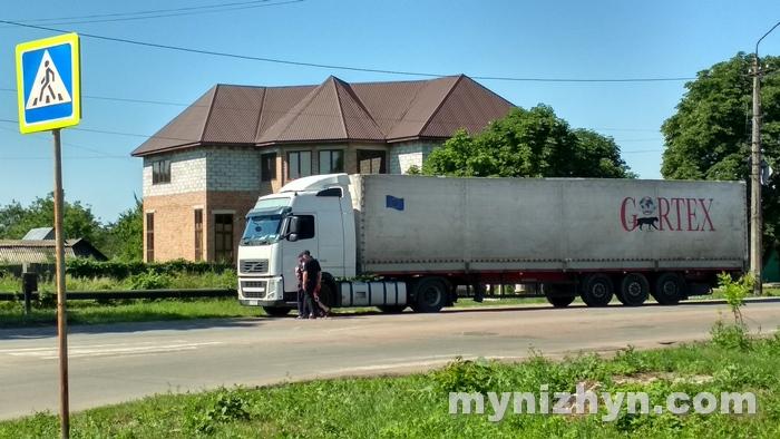 вантажівки, рух, місто, контроль, вага
