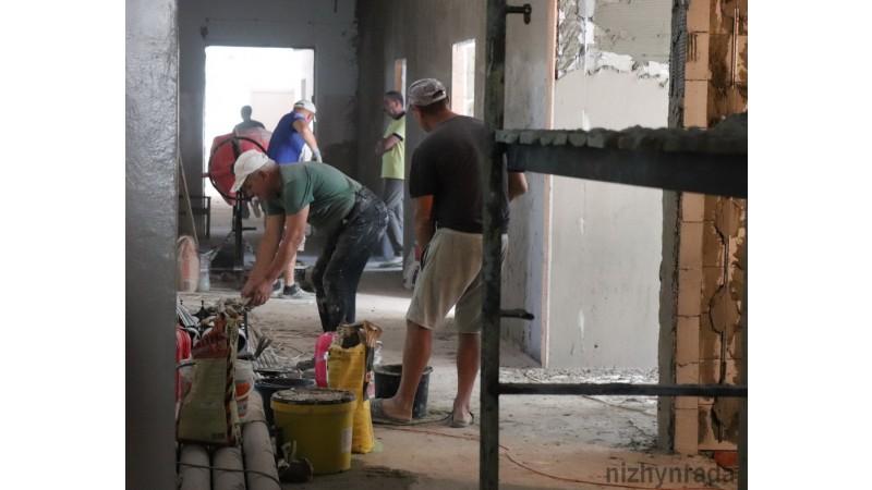 Ніжин, міська лікарня, реконструкція