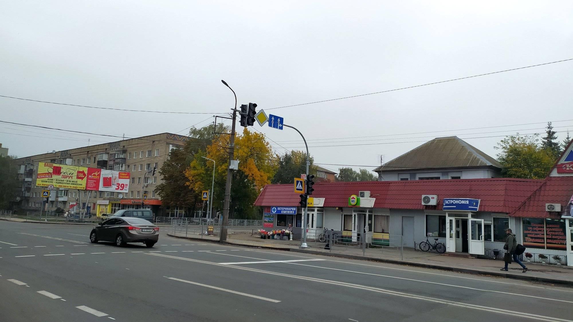 світлофори, зупинка Сільмаш, ремонт