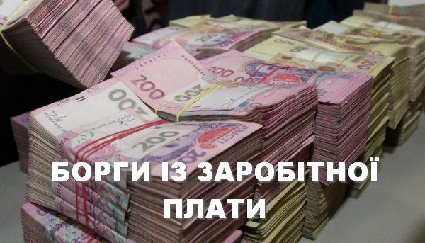 борг, заробітна плата, підприємство