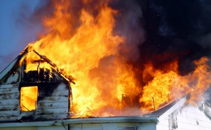 Лосинівка, будинок, пожежа, лікарня