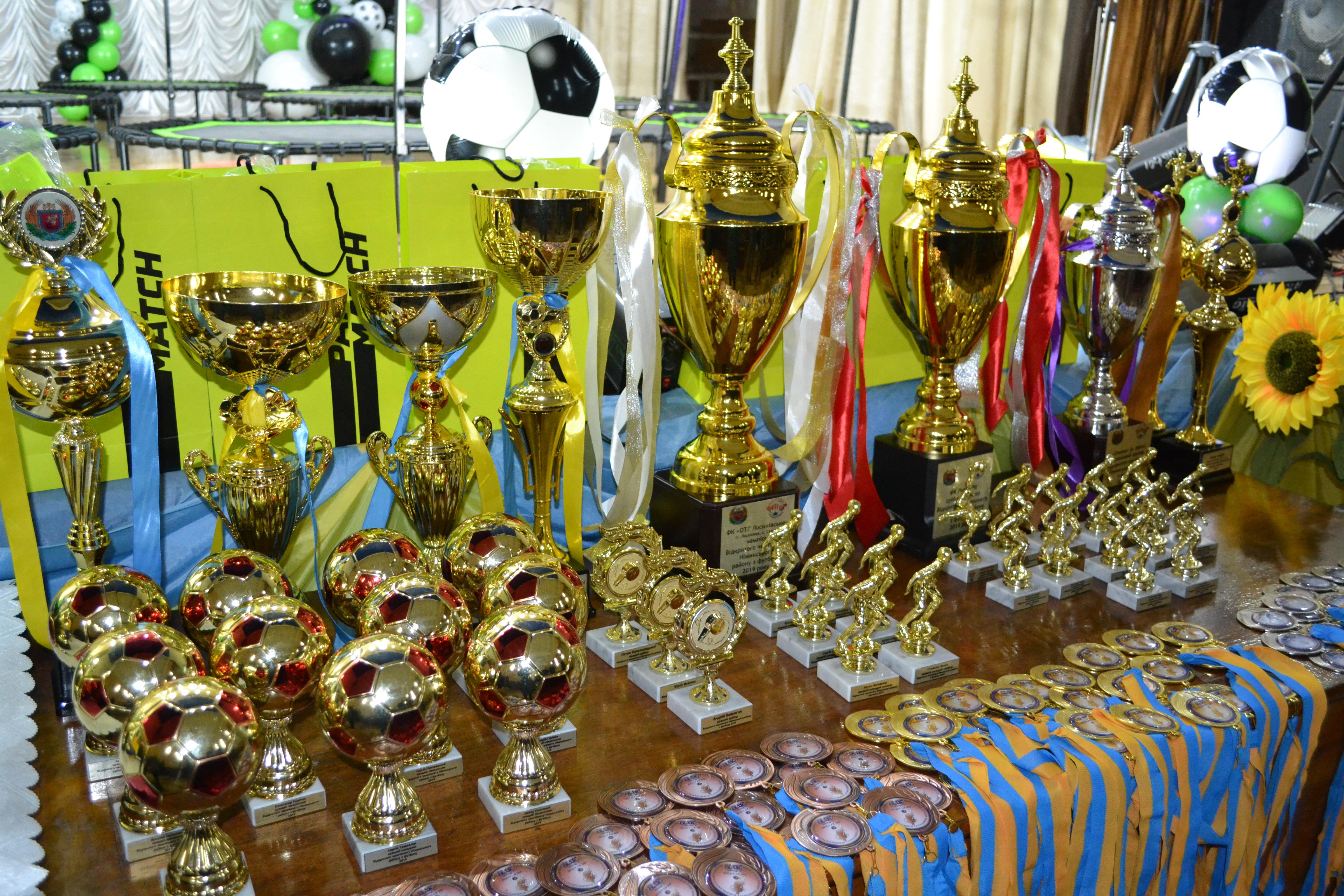 футбол, чемпіонат, нагородження