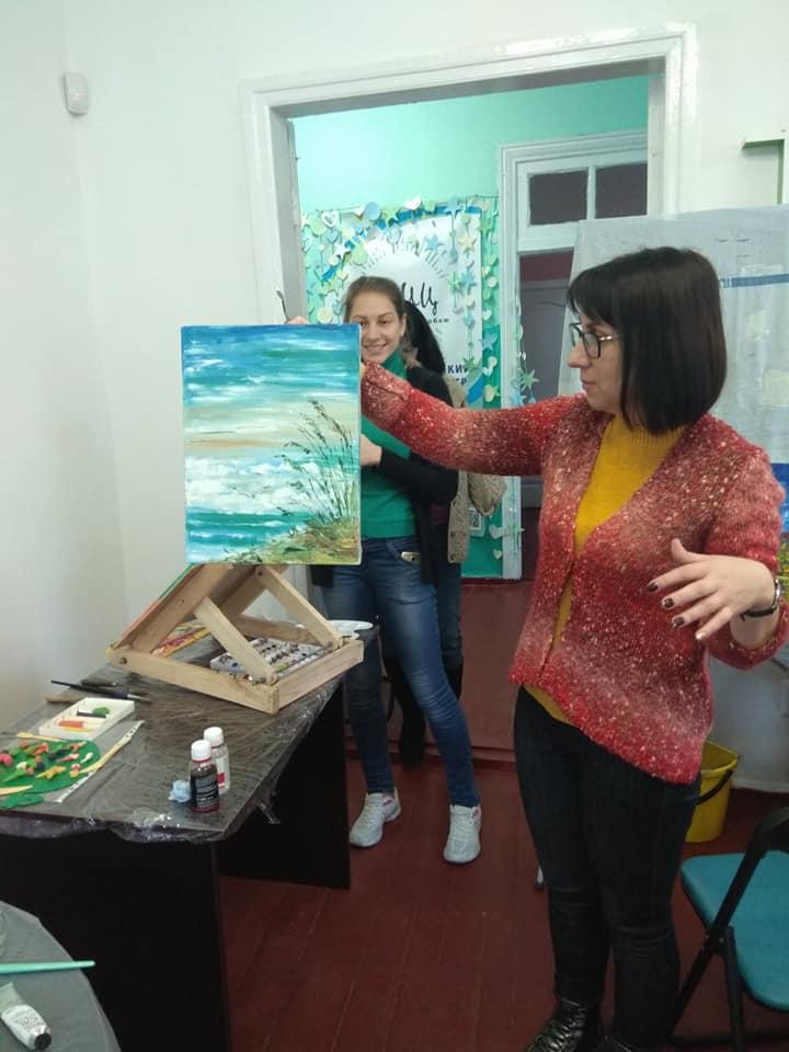 художня майстерня, Оксана Багмет, молодіжний центр