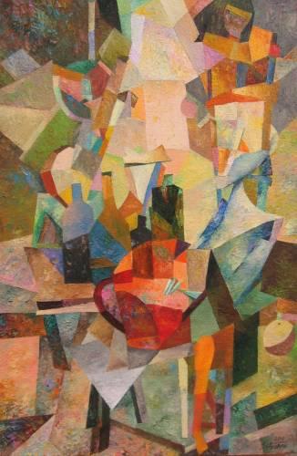 Сергій Рибак, художник-абстракціоніст, графік, поет, Ніжин, ювілей
