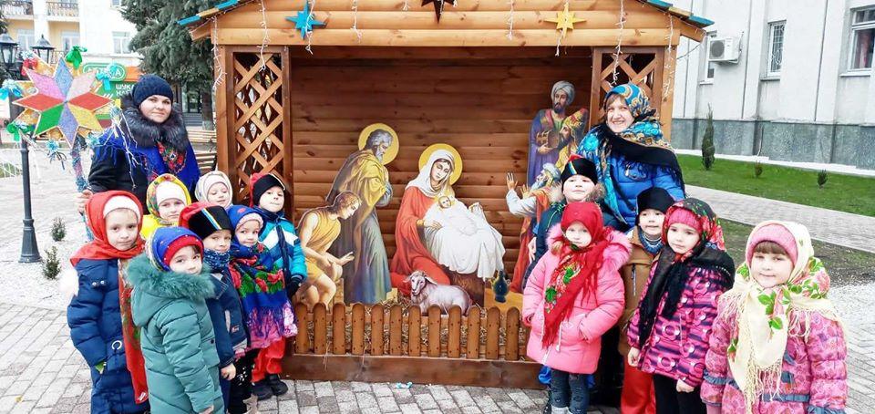 колядники, Різдво, ДНЗ №13