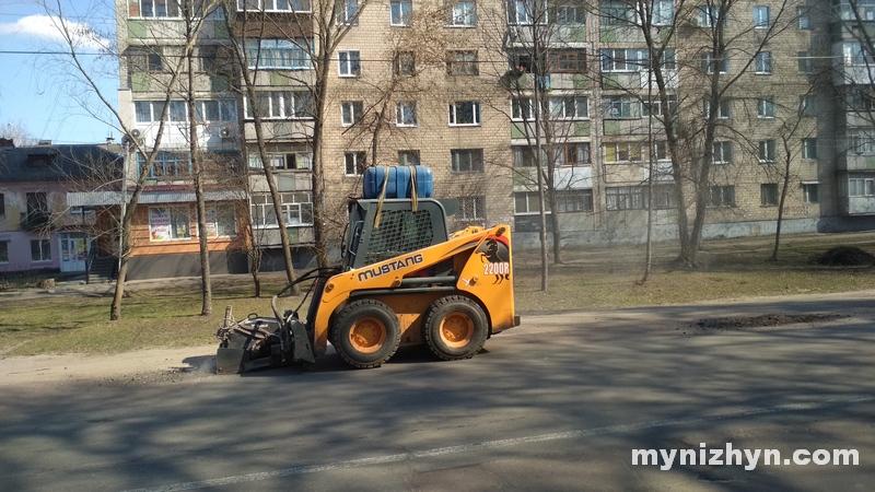 ремонт, дороги, вулиця Шевченка