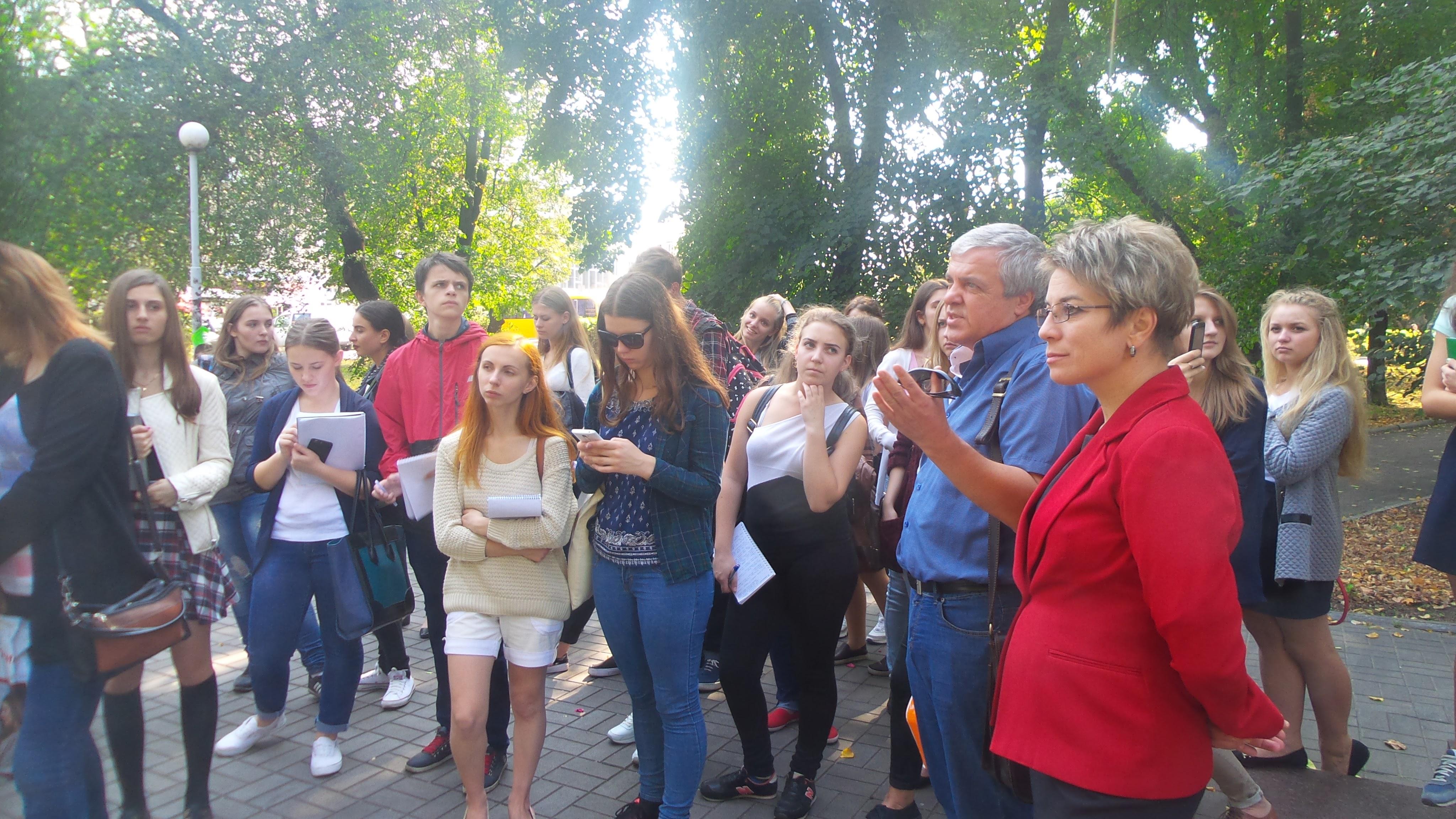 Ніжин, студенти, враження, журналісти, Микола Тимошик