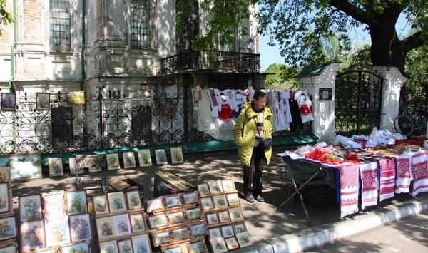 виставка, вулиця Гоголя, майстри