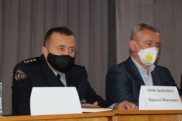 начальник, поліція, Ніжин, Микола Омельченко