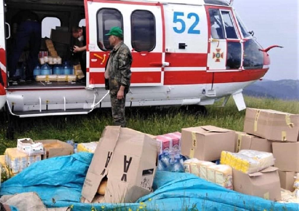 рятувальники, допомога, повінь, Західна Україна