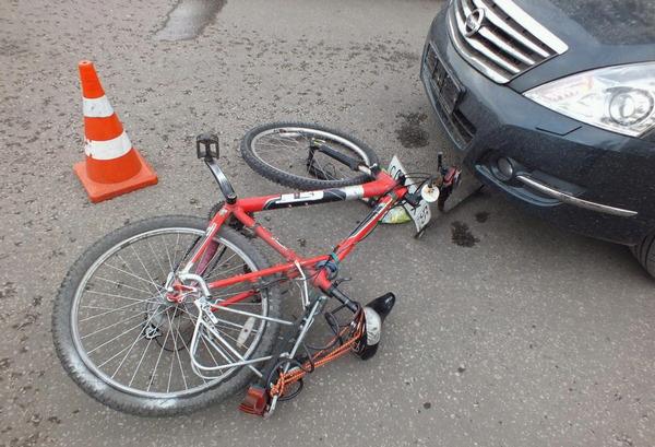 ДТП, велосипедист, авто, травми