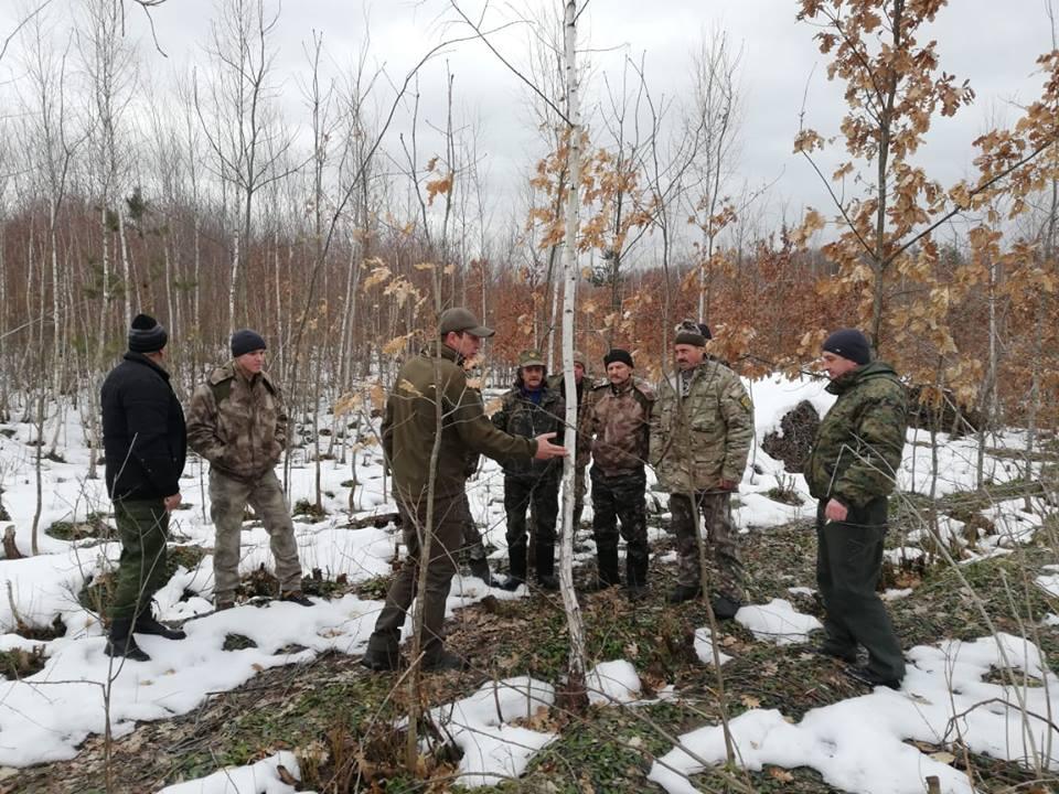 Ніжинське лісове господарство, атестація, лісівники