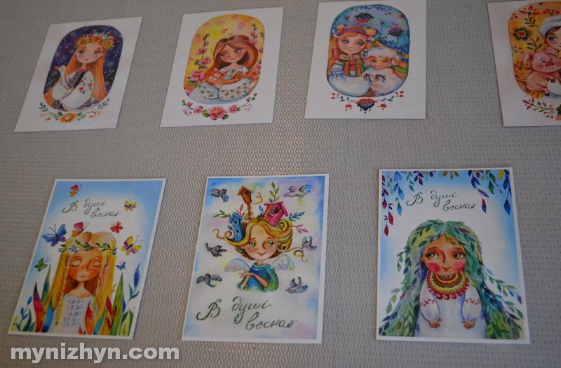 Катерина Васечко, виставка, весна, картини, ляльки