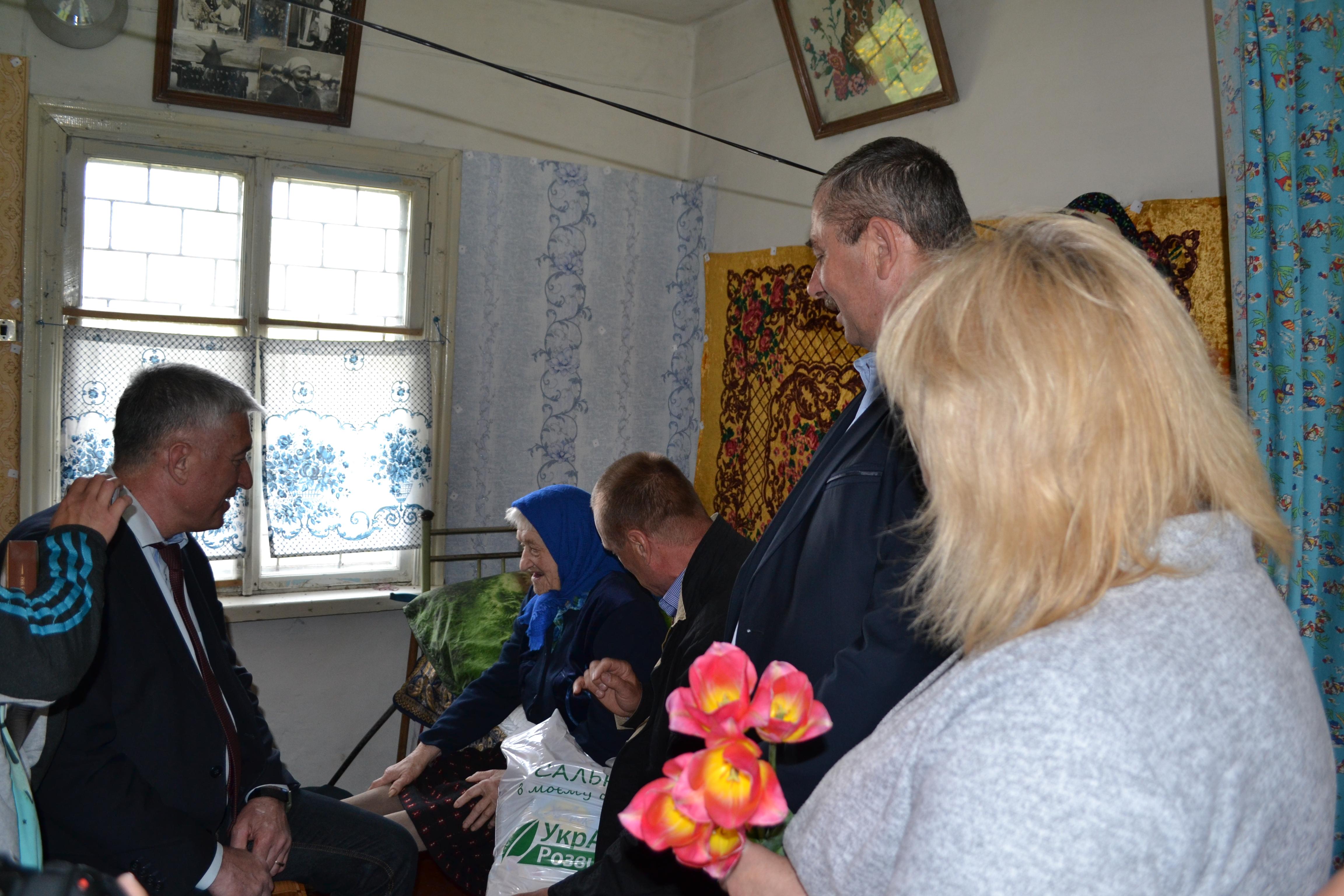 100-річний ювілей, Марія Чуприна