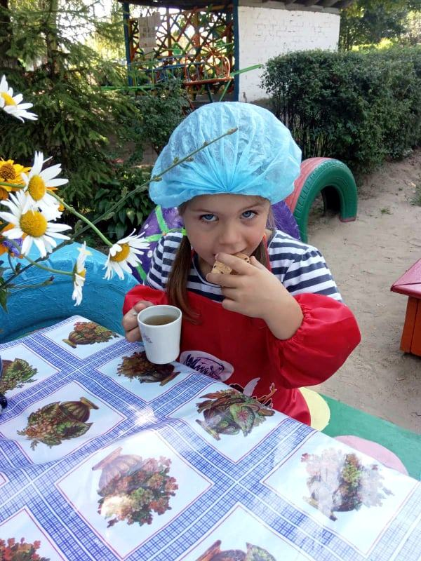 ЗДО №13, свято, печиво, задоволення