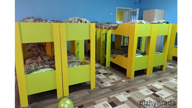 ДНЗ «Кручайлик», внутрішні роботи, ігрові кімнати, відкриття