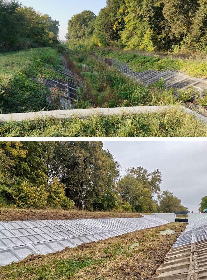 річка Остер, магістральний канал, виконані роботи, заплановане