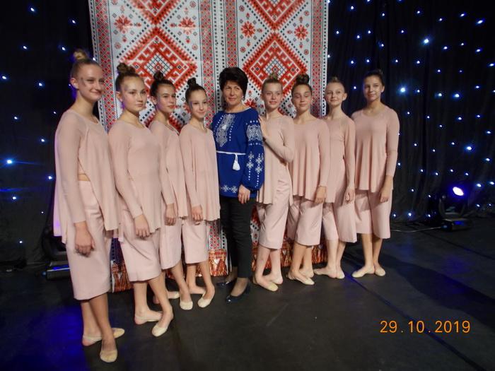 танці, Ніжинська хореографічна школа, перемога
