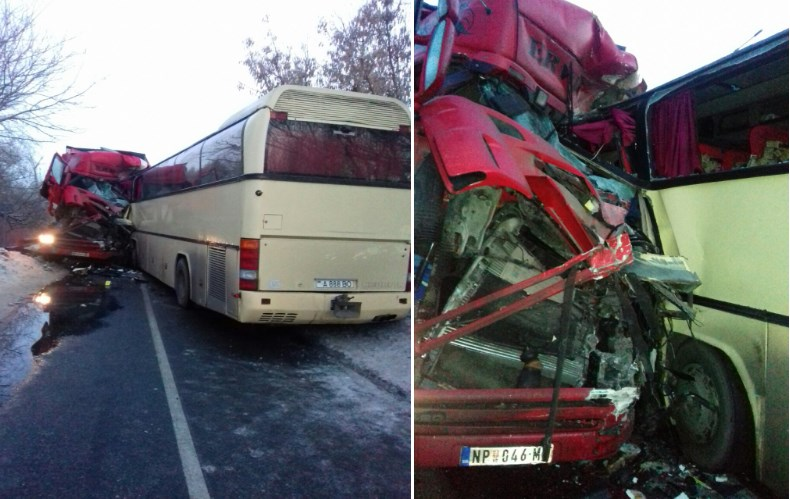 ДТП, автобус, вантажівка, загибель