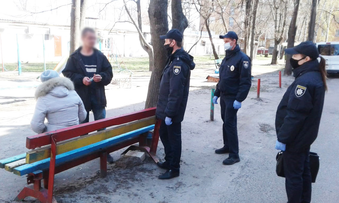 поліція, рейди, карантин, норми, перевірка