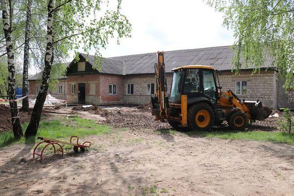 дитячий садок, школа №8, Кручайлик, будівництво