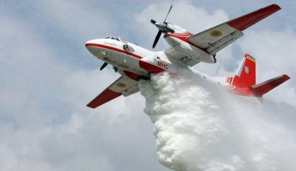 авіазагон, пожежний літак