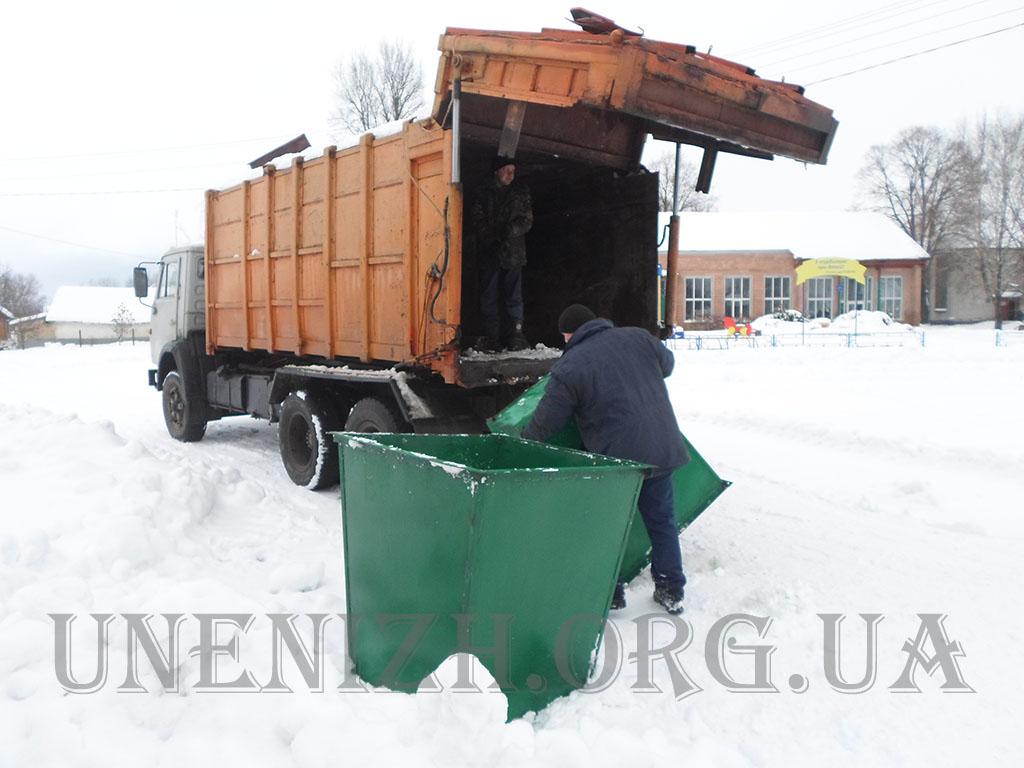 Кунашівка, сміття, контейнери, вивіз