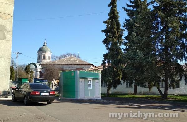 санвузол, туалет, громадська вбиральня, санітарний блок-контейнер