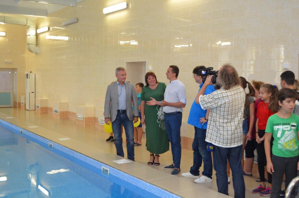 басейн, відкриття, Олександр Кодола