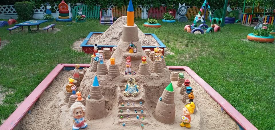 пісок, ДНЗ №13, конкурс, піщане містечко