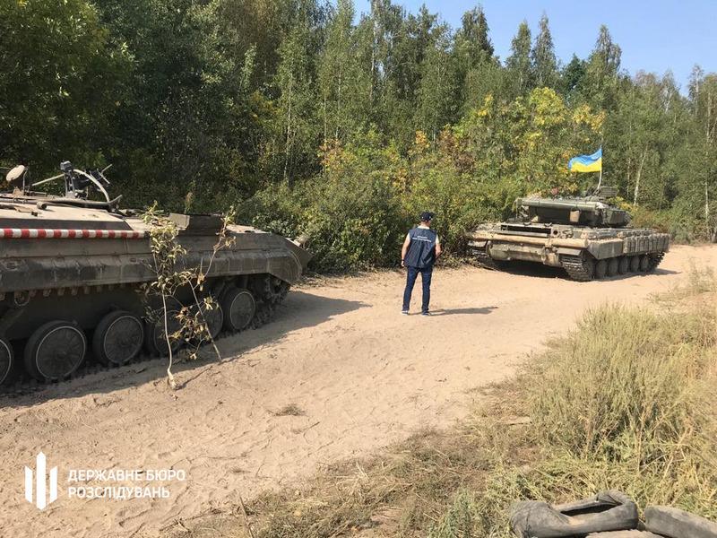 військовослужбовець, танк, ДБР
