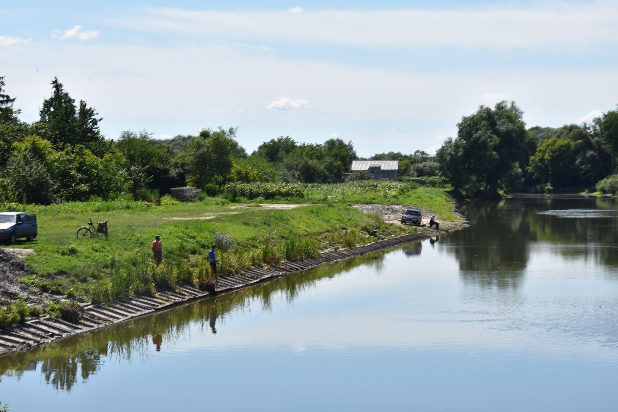 Носівка, річка Носівочка, проект, розчищення, зона відпочинку