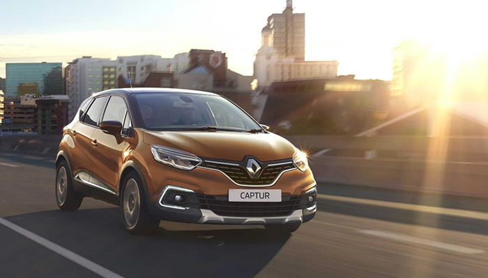 Renault Captur, Рено