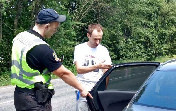 поліція, водії, порушники