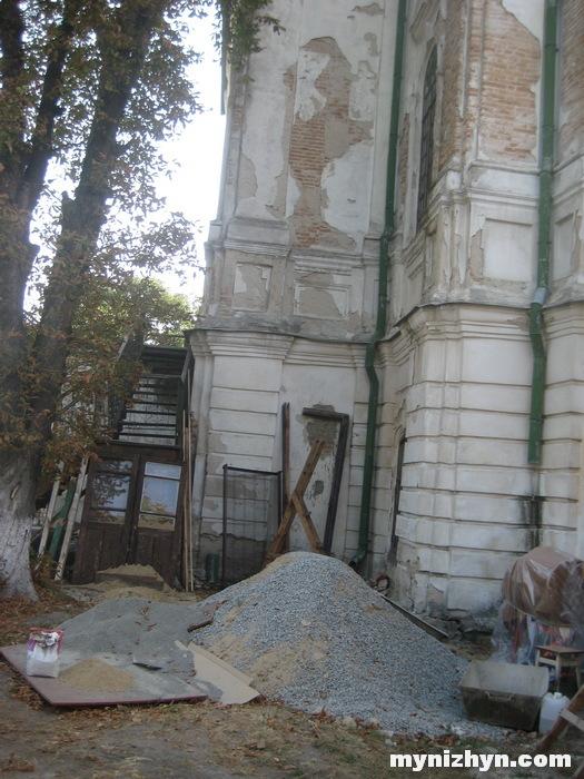 Ніжин, храм, поточний ремонт, отець Олег, диякон Януарій