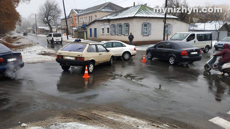 ДТП, перехрестя, Шевченка, Синяківська