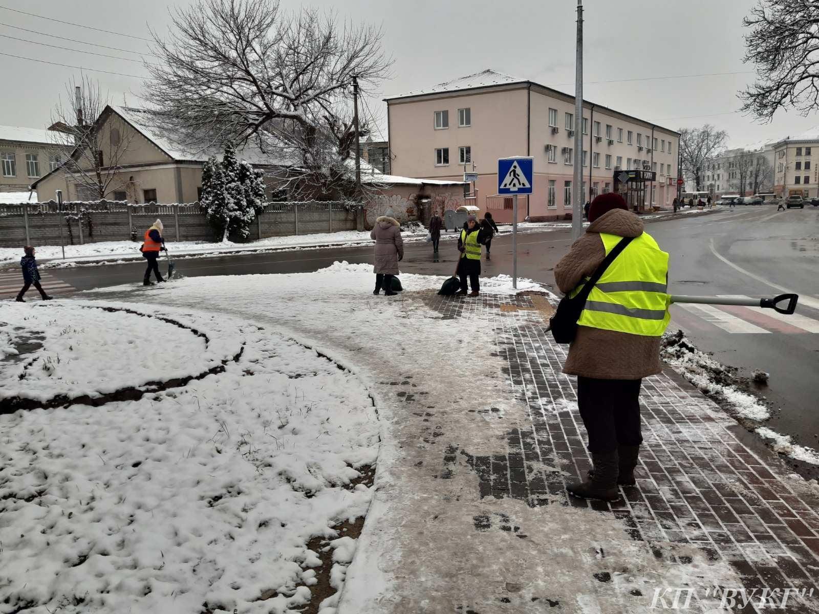 комунальники, зима
