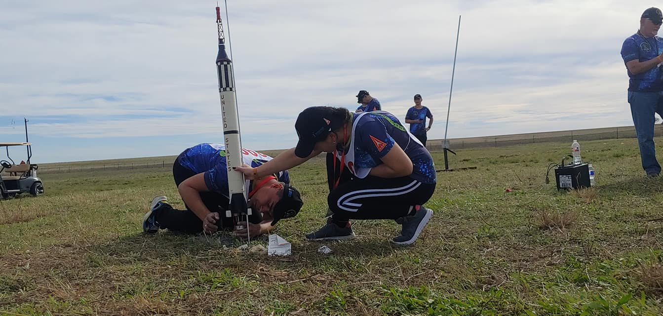 Олександр Радченко, ракетомодельний спорт, ракети, США