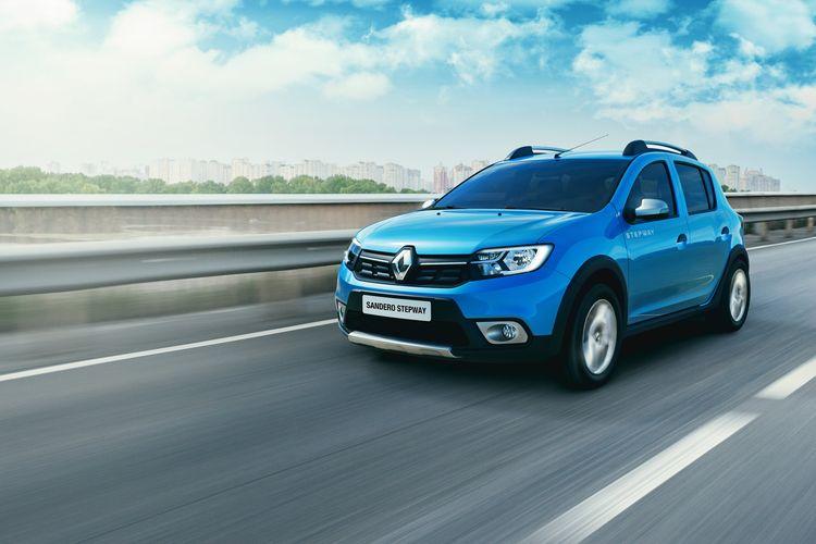 Renault Sandero Stepway, кроссовер