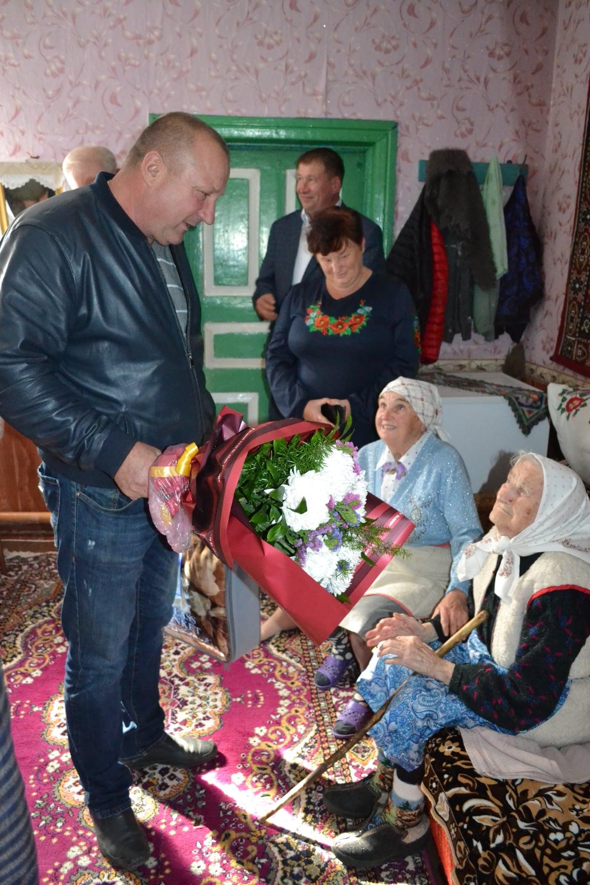 ювілей, 100-річчя, Липів Ріг, Парасковія Пінчук