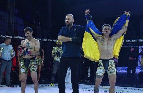 Степан Литвиненко, змішані єдиноборства, перемога