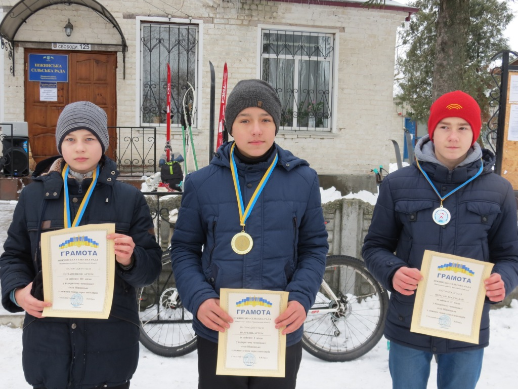 лижи, чемпіонат, Ніжинське