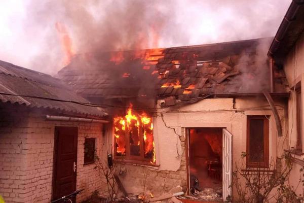 Лосинівка, пожежа