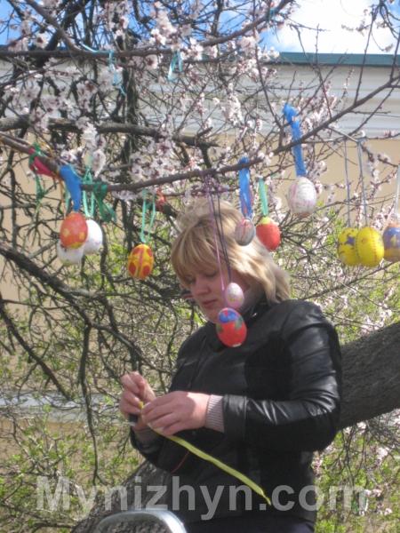 Дерево єднання, Гоголівська, писанка
