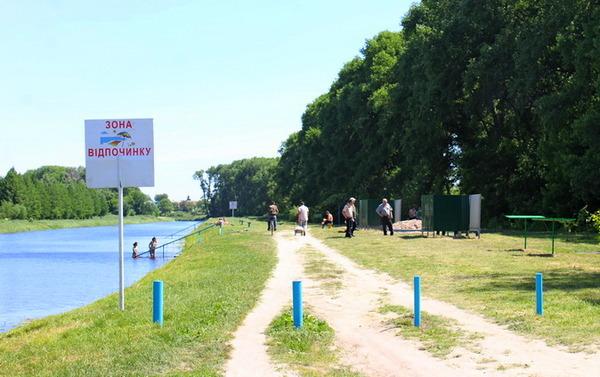 Ніжин, пляж, санітарні вимоги, Остер
