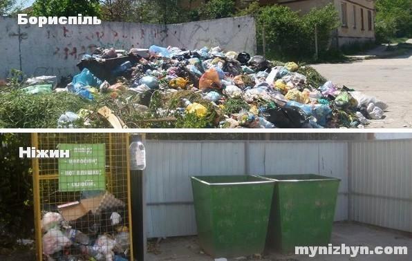 Бориспіль, сміття, досвід