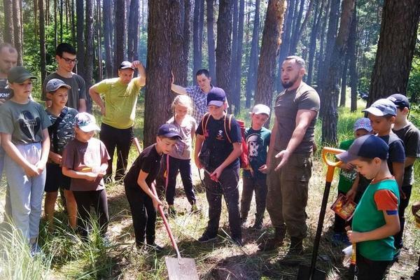 ДП «Ніжинський лісгосп», «ПЛАСТ», захід у лісі